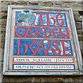 SE0399 : Unusual sign, Anvil Square, Reeth by Pauline E