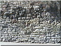 NT2673 : Stones of the Flodden Wall, Drummond Street by kim traynor
