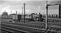 SU5290 : 2-6-0 pilot locomotive in the yard at Didcot by Ben Brooksbank