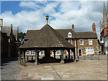 SK8608 : Oakham Buttercross by Richard Croft