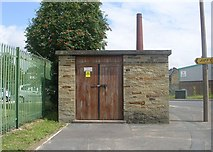 SE1537 : Electricity Substation No 1391 - Thackley Old Road by Betty Longbottom