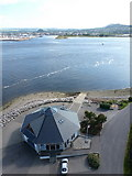NH6647 : North Kessock: looking down on the lifeboat station by Chris Downer