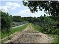 TL4100 : Bridge over the M25 near Upshire by Malc McDonald