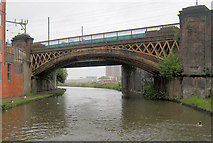 SJ8297 : Railway Bridge by Mike Todd