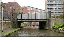 SJ8297 : Hulme Hall Road Bridge by Mike Todd