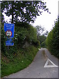 TG0723 : Brick Kiln Lane, Kerdiston by Adrian Cable