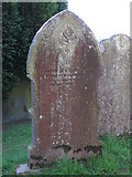 NY9257 : St. Helen's  Church, Whitley Chapel - 19th C gravestone by Mike Quinn