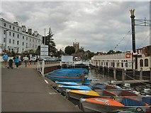 SU7682 : Henley On Thames - Riverside by Paul Gillett