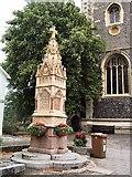 SU7682 : Memorial - St Mary's church - Henley by Paul Gillett
