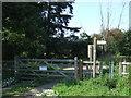 TL4301 : Footpath gate near Epping by Malc McDonald
