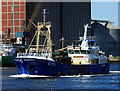J3576 : The 'Emerald Gratia' at Belfast by Rossographer