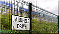 J3675 : Larkfield Drive sign, Belfast by Albert Bridge