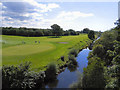 SD4944 : River Wyre and Golf Course, Garstang by David Dixon