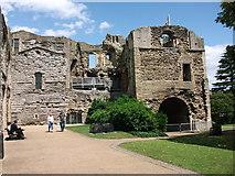 SK7954 : Newark Castle by margaret carter