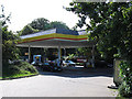 TQ3763 : Shell garage, Kent Gate Way, Addington  by Stephen Craven