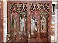 TG0743 : St Nicholas, Salthouse - Screen by John Salmon