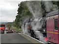 SE0539 : Steam Locomotive at Ingrow West by David Dixon