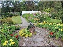 NS3478 : Geilston Garden by David P Howard