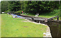 SD9322 : Smithyholme Lock 25 from above by Mike Todd