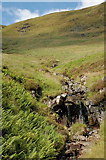 NT1413 : A waterfall in Priest Gill by Jim Barton