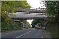 TQ2652 : Reigate Hill Footbridge - refurbishment by Ian Capper