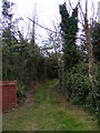 TM4159 : Footpaths to the B1121 Aldeburgh Road by Geographer