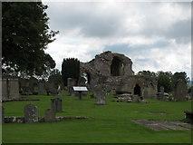 NJ0661 : Kinloss Abbey by Alan Hodgson