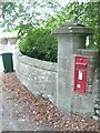 NS1070 : Edwardian post box by Russel Wills