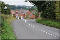SO6069 : Housing at Burford by Philip Halling