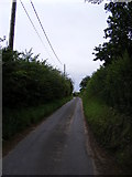 TM4160 : Church Road, Friston by Geographer