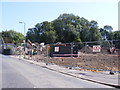 TM3862 : Demolition work in Saxmundham by Adrian Cable