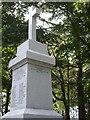 NJ5210 : War Memorial, Leochel-Cushnie (2) by Stanley Howe