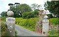 SW4838 : Entrance to Towednack church by Graham Horn