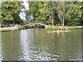 SP5105 : Cherwell Footbridge by Gordon Griffiths