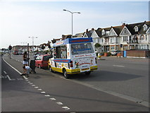 TQ2704 : Ice Cream Van along the Kingsway A259 by Josie Campbell