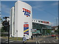 TQ4665 : Tesco Extra, Orpington by David Anstiss