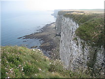 TA1974 : Crab Rocks seen from Bartlett Nab by Jonathan Thacker