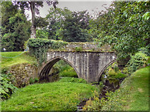 SE2768 : Mill Bridge, Fountains Abbey by David Dixon