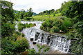 ST7964 : Weir to Claverton Pumping Station by Rick Crowley