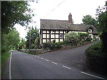 SO5793 : Ivy Cottage, Brockton by Anthony Vosper