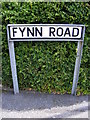 TM2548 : Fynn Road sign by Adrian Cable