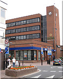 SJ9223 : West end of Stafford Borough Council's offices  by Robin Stott