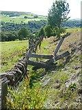 SE0026 : Stile on Hebden Royd Footpath 18, Mytholmroyd by Humphrey Bolton