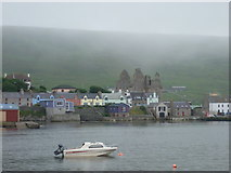 HU4039 : Scalloway: the castle from across the harbour by Chris Downer