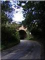 TM2547 : Railway Bridge in Sandy Lane by Adrian Cable