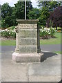 SE1529 : Boer War Memorial - Harold Park - Park Road by Betty Longbottom