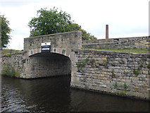 SE2718 : Horbury Basin Bridge by Mike Todd