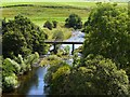 NT8906 : Bridge over River Coquet at Linshiels by Andrew Curtis