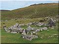 SX7080 : Bronze age hut at Grimspound by Stephen Craven