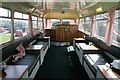 NT9350 : Inside the Chain Bridge Bus Café by Walter Baxter